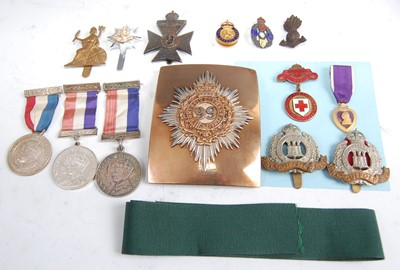 Lot 72-A collection of miscellaneous militaria to include