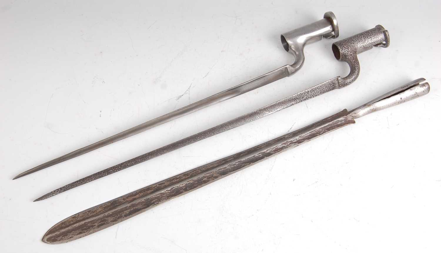 Lot 43-A British 1839 pattern socket bayonet