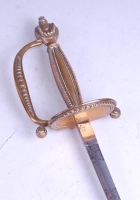 Lot 44-A George V court dress sword