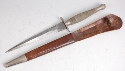Lot 12-A Fairbairn-Sykes 1st Pattern Commando fighting knife