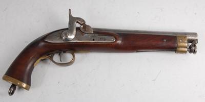 Lot 36-A Victorian percussion pistol