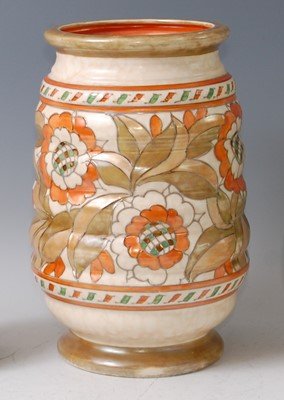 Lot 3-Charlotte Rhead for Crown Ducal - a large...