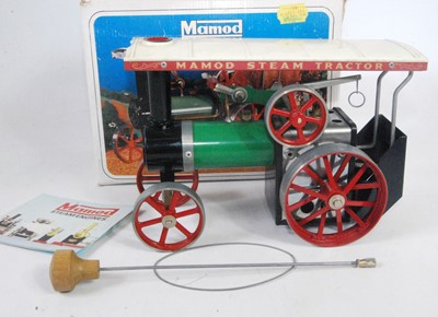 Lot 2-A Mamod TE1A traction engine of usual...