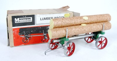 Lot 6-A Mamod LW1 lumber wagon of usual...