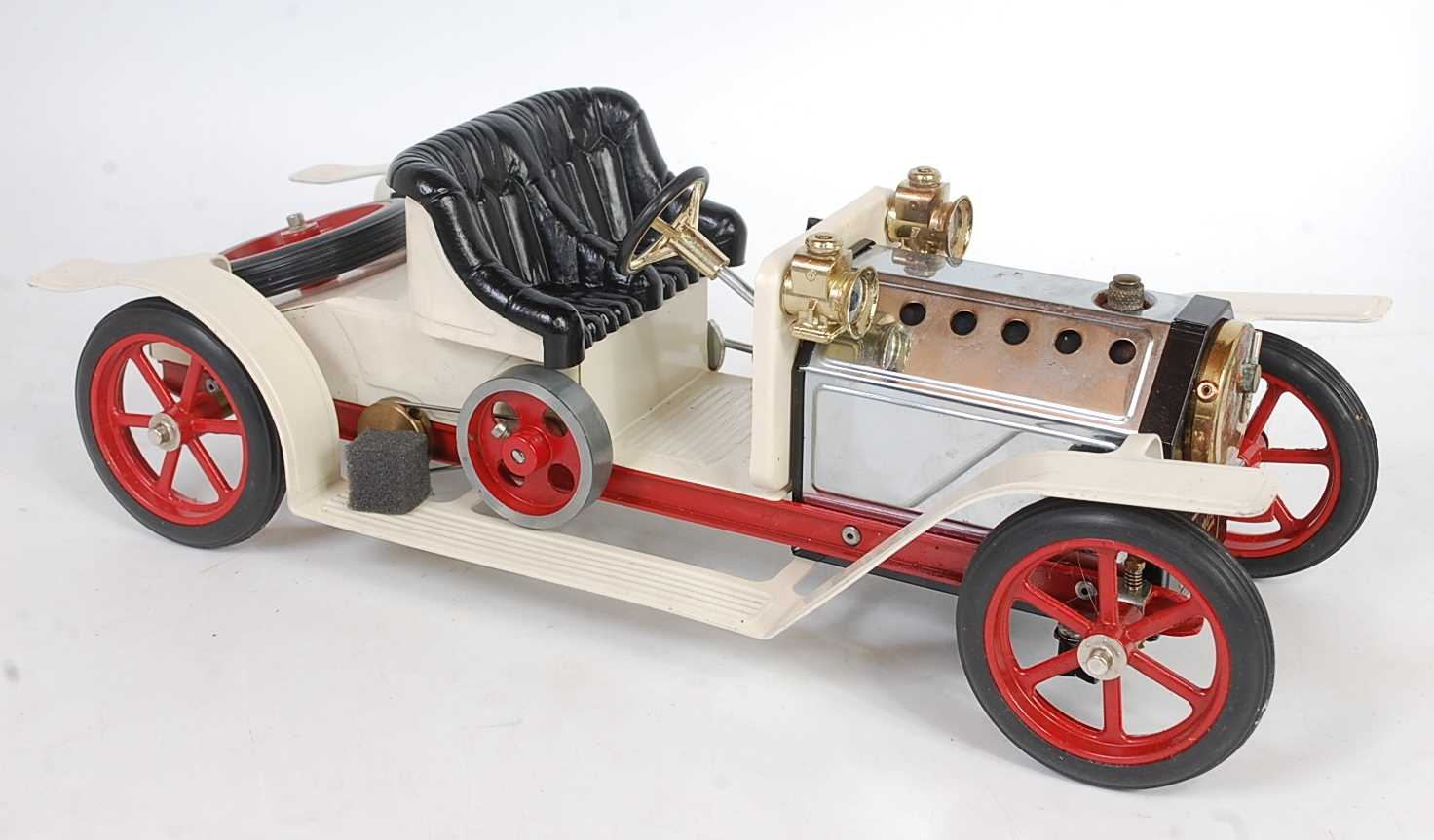 Lot 8-A Mamod No. SA1 steam roadster, comprising of...