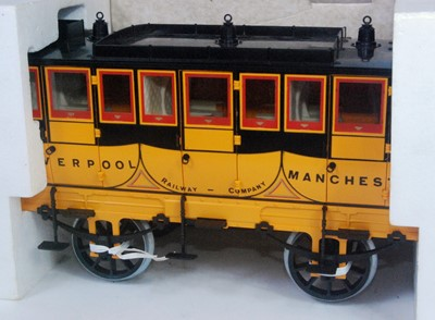 "Lot 10-A Hornby Railways 3½"" gauge Stephensons Rocket..."