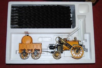 """Lot 11-Hornby 3½"""" gauge Stephensons Rocket complete..."""