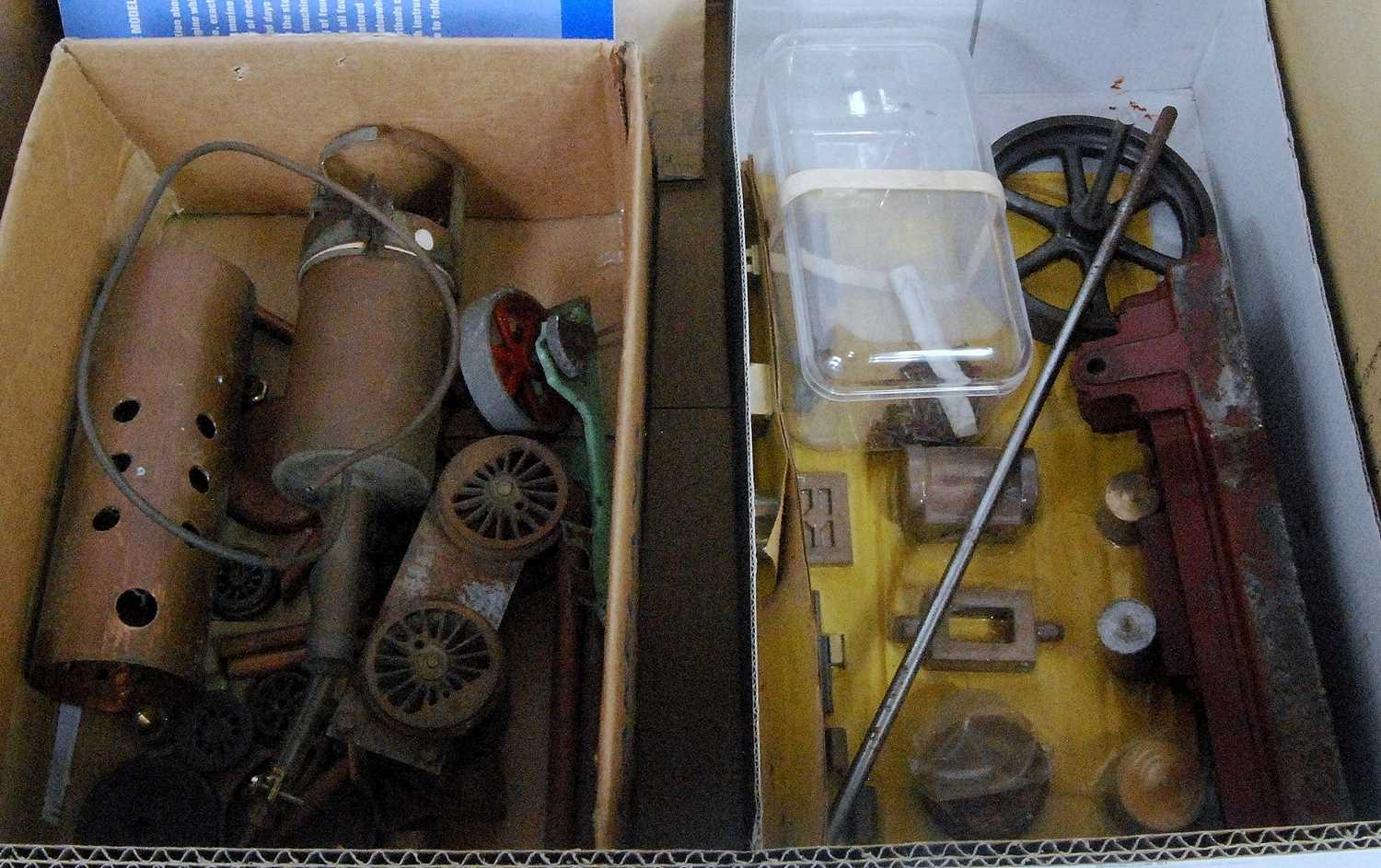 Lot 20-One box containing a quantity of various steam...