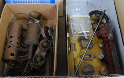 Lot 20 - One box containing a quantity of various steam...