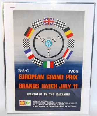 Lot 11 - An original 1960s Brands Hatch RAC European...