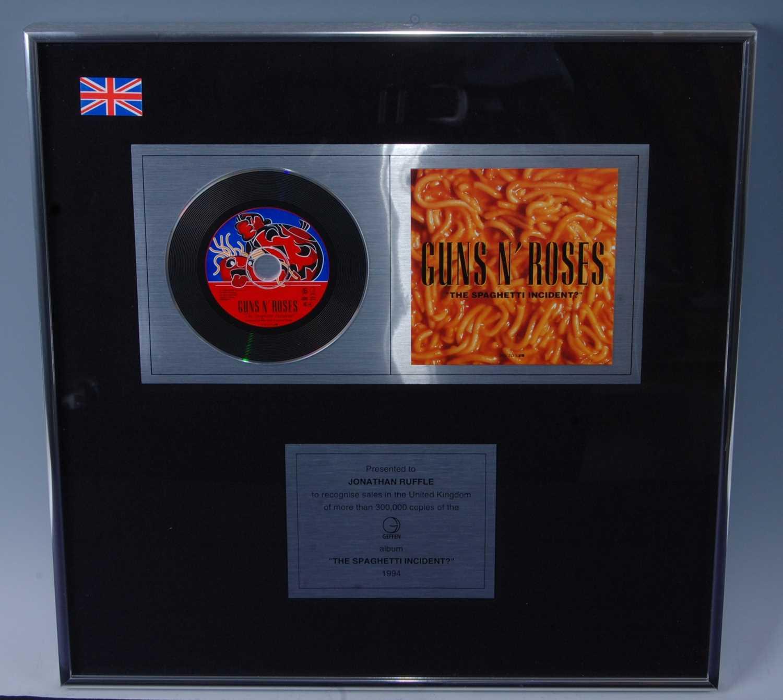 Lot 504-Guns N' Roses, a presentation CD for the album...