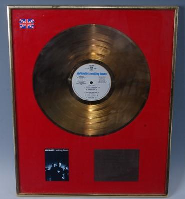 Lot 506-Del Amitri, a presentation gold disc for the...