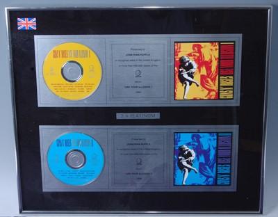 Lot 505-Guns N' Roses, a platinum two disc...