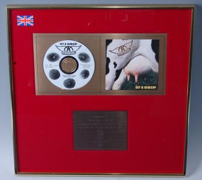 Lot 507-Aerosmith, a presentation CD for the album Get...