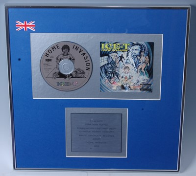 Lot 508-Ice-T, a presentation CD for the album Home...