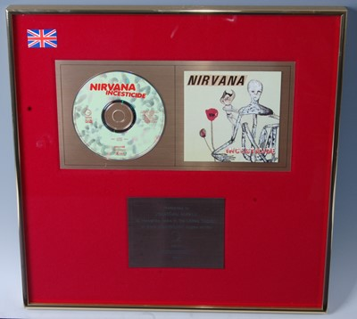 Lot 509-Nirvana, a presentation CD for the album...