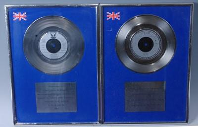 Lot 511-John Farnham, a silver presentation record for...
