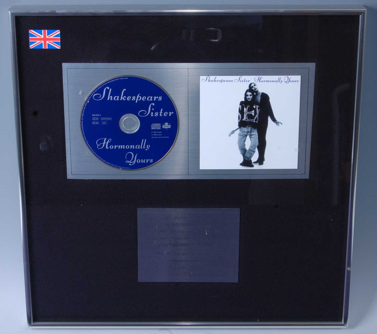 Lot 513-Shakespears Sister, a presentation CD for the...