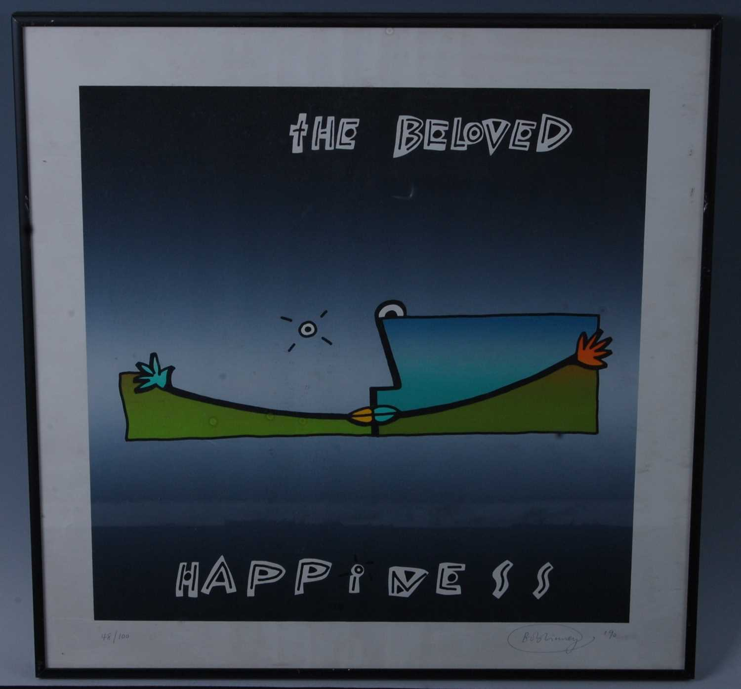 Lot 514-The Beloved - Happiness, a promotional...
