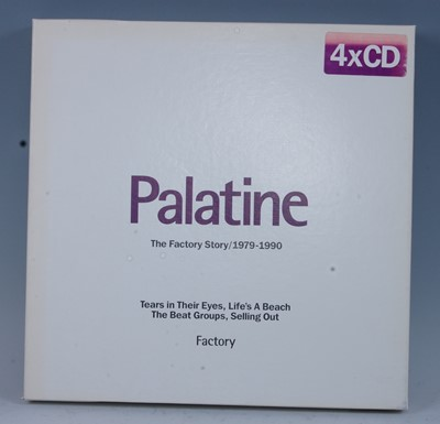 Lot 520-Palatine The Factory Story / 1979-1990 four CD...