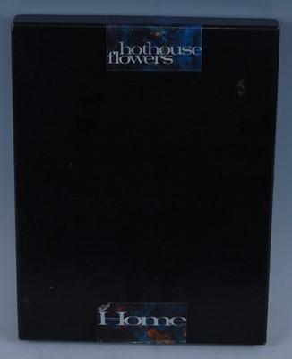 Lot 521-Hothouse Flowers - Home, 1990 UK promo box set,...