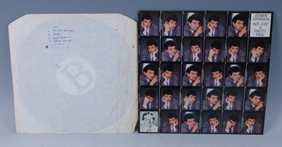 Lot 527-Rowan Atkinson, an unmarked white label LP,...