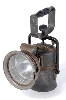 Lot 46-BR(M) Railway hand lamp, as issued by The...