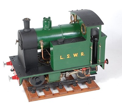 Lot 47-From Reeves castings and to LBSC designs 0-4-0...