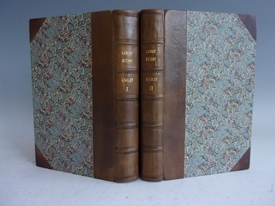 Lot 1002-LINDLEY, John. Ladies' Botany. James Ridgway...