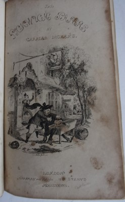 Lot 1011-DICKENS, Charles. The Posthumous Papers of the...