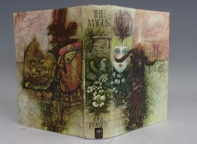 Lot 1014-FOWLES, John. The Magus. Jonathan Cape, London....