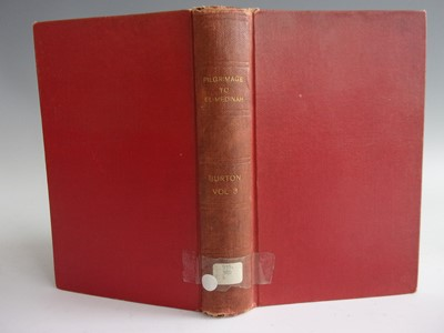 Lot 1015-BURTON, Richard, F. Personal Narrative of a...