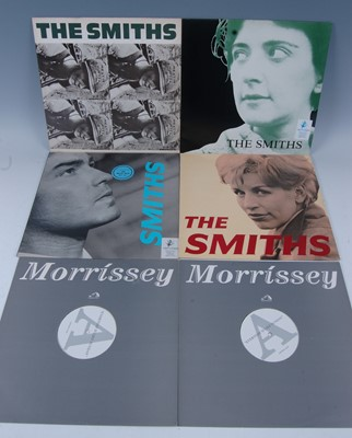 """Lot 541-Smiths / Morrissey, a collection of six 12""""..."""