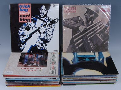 """Lot 542-A collection of LP's and 12"""" records to..."""