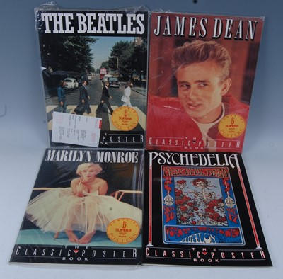 Lot 546-A collection of four Classic Poster Books to...