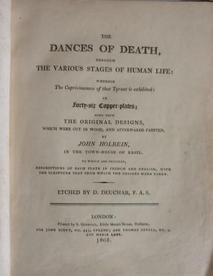 Lot 1023-*HOLBEIN, John. The Dances of Death, through...