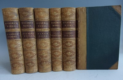 Lot 1028-*DICKENS, Charles. A Collection (incomplete)...