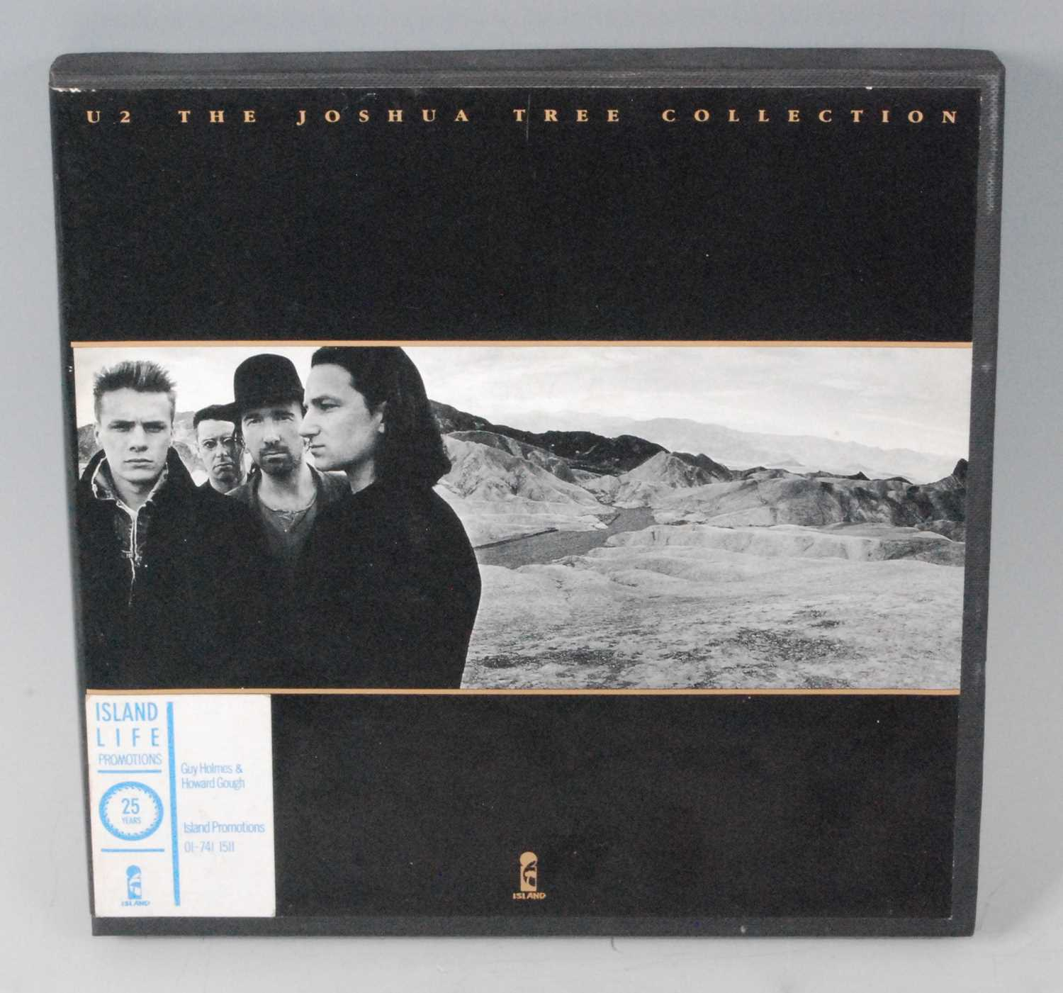 Lot 551 - U2, The Joshua Tree Collection, a set of five...