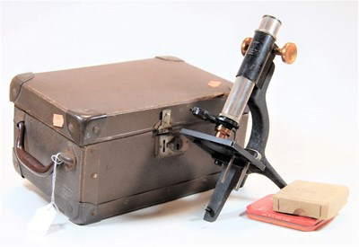 Lot 23-A Britex students microscope in fitted box,...
