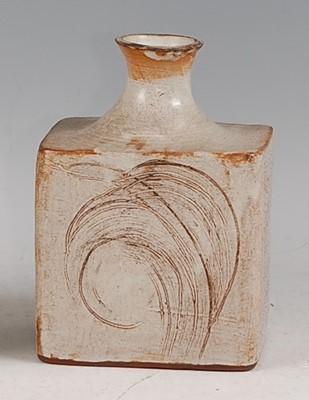 Lot 30-A possibly Japanese slab-sided studio pottery...