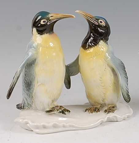 Lot 24-Karl Ens - an early 20th century glazed...