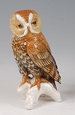 Lot 27-Karl Ens - a large glazed porcelain model of a...
