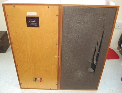 Lot 502-A pair of Spendor Type BC1 loudspeakers,...