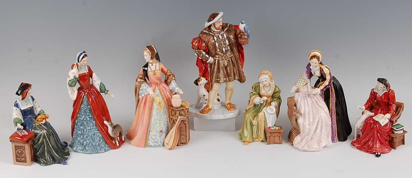 Lot 11-A Royal Doulton complete limited edition set...
