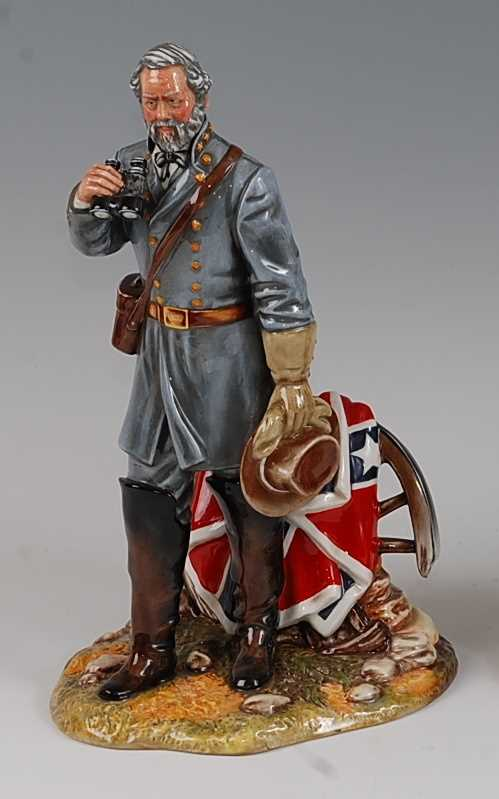 Lot 13-A Royal Doulton figure group of General Robert...