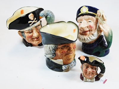 Lot 2-A collection of five Royal Doulton character...
