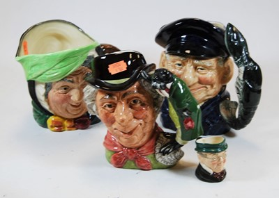 Lot 5-A collection of four Royal Doulton character...