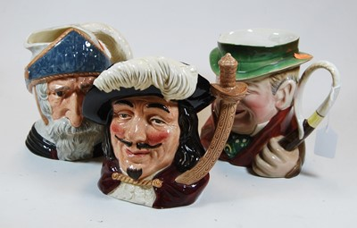 Lot 6-Two Royal Doulton pottery character jugs, Don...