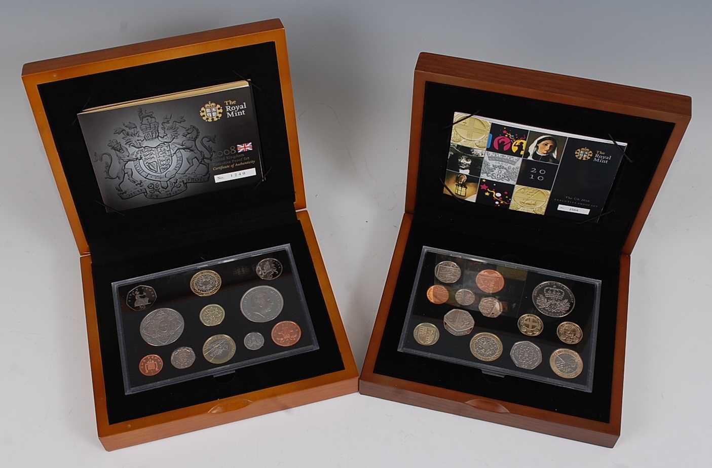 Lot 2002-Great Britain, The Royal Mint 2008 UK...