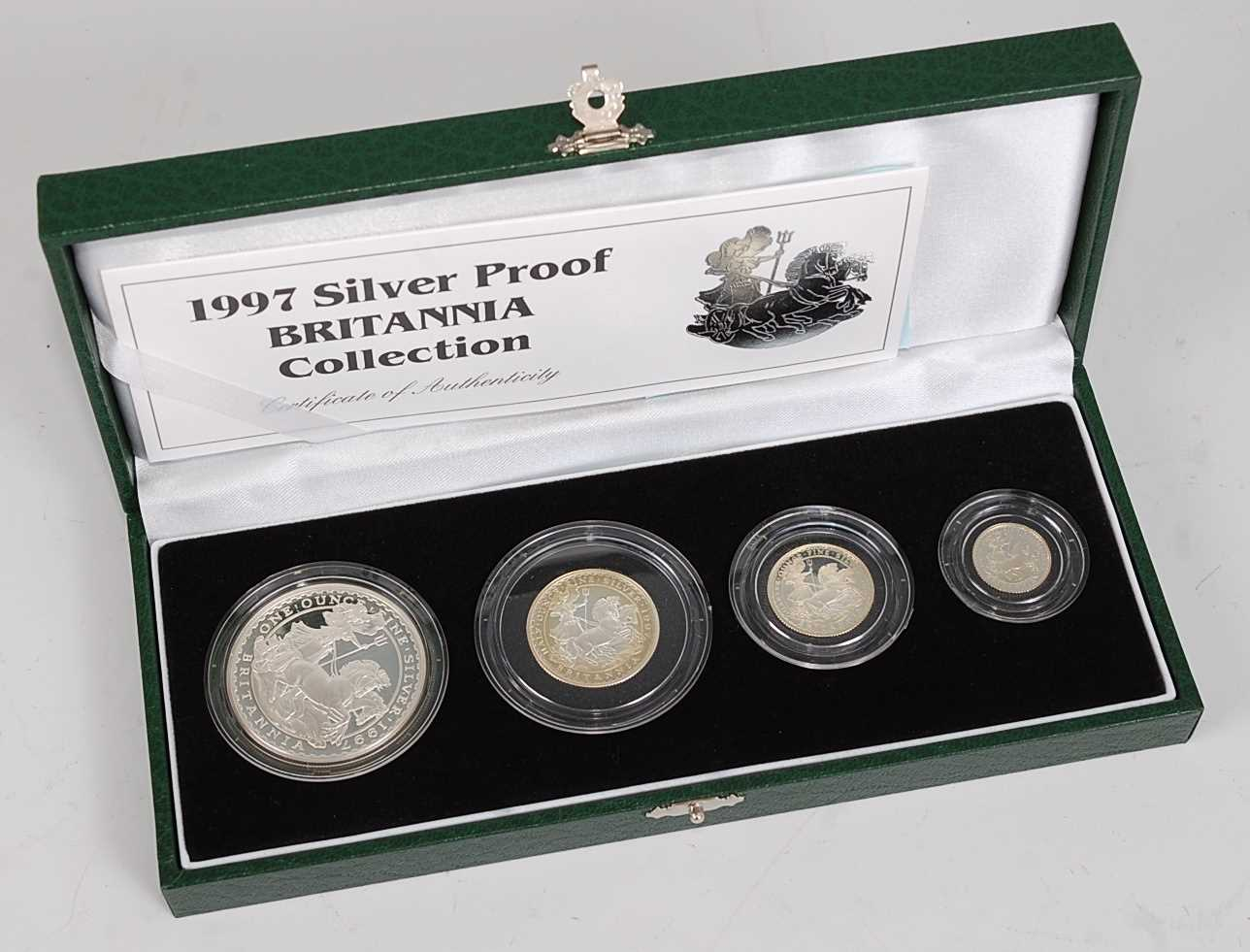 Lot 2004-Great Britain, The Royal Mint 1997 Silver...